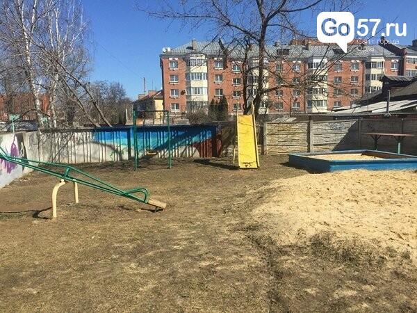 """Как содержатся детские площадки в Орле: район """"Чайка"""", фото-8"""