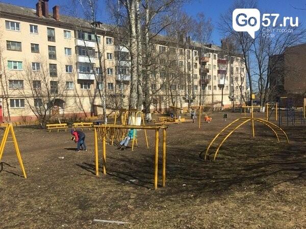 """Как содержатся детские площадки в Орле: район """"Чайка"""", фото-10"""