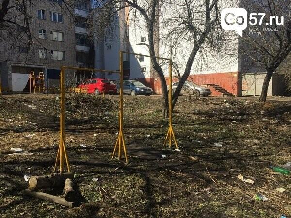 """Как содержатся детские площадки в Орле: район """"Чайка"""", фото-6"""