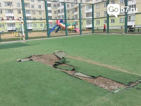 """Как содержатся детские площадки в Орле: район """"Наугорка"""", фото-7"""