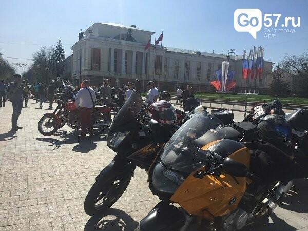 Андрей Клычков посетил открытие мотосезона в Орле, фото-4