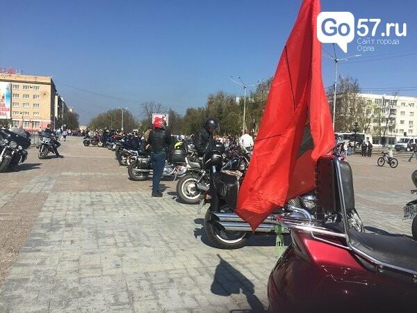 Андрей Клычков посетил открытие мотосезона в Орле, фото-5
