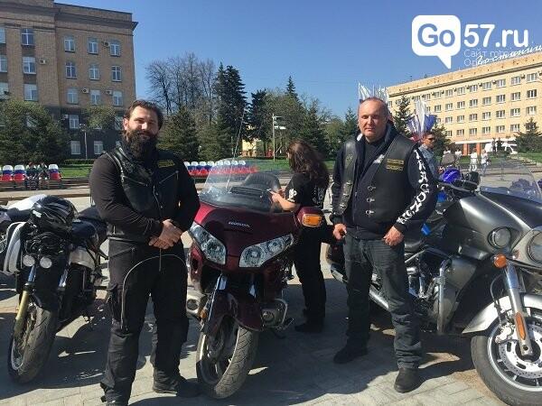 Андрей Клычков посетил открытие мотосезона в Орле, фото-3