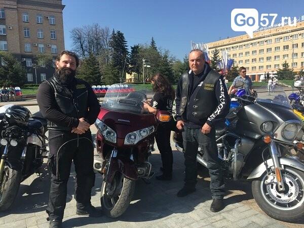 Андрей Клычков посетил открытие мотосезона в Орле, фото-7
