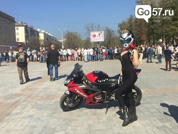 Андрей Клычков посетил открытие мотосезона в Орле, фото-2
