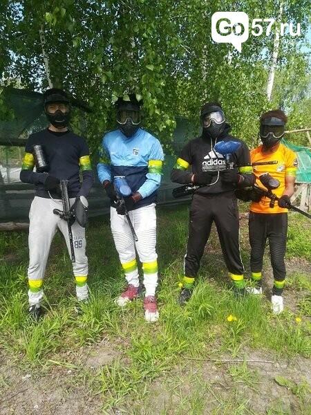Орловские студенты сразились в соревновании по пейнтболу, фото-9