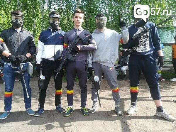 Орловские студенты сразились в соревновании по пейнтболу, фото-1
