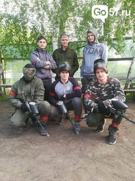 Орловские студенты сразились в соревновании по пейнтболу, фото-5