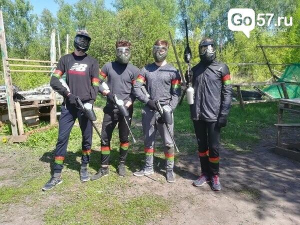 Орловские студенты сразились в соревновании по пейнтболу, фото-2