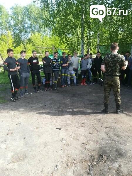 Орловские студенты сразились в соревновании по пейнтболу, фото-8