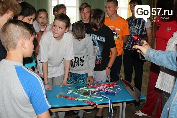Чемпионка России по бобслею посетила орловскую школу-интернат, фото-6