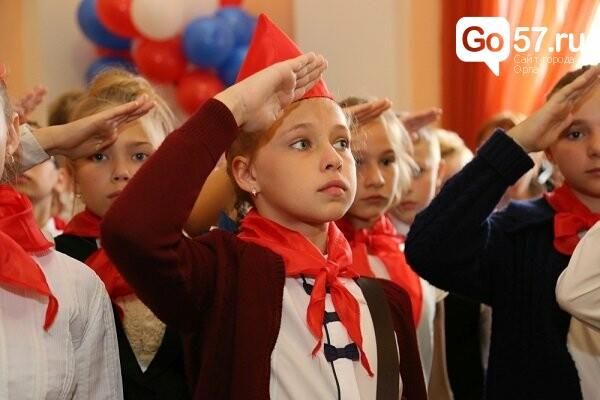Андрей Клычков повязал галстуки новым пионерам, фото-3
