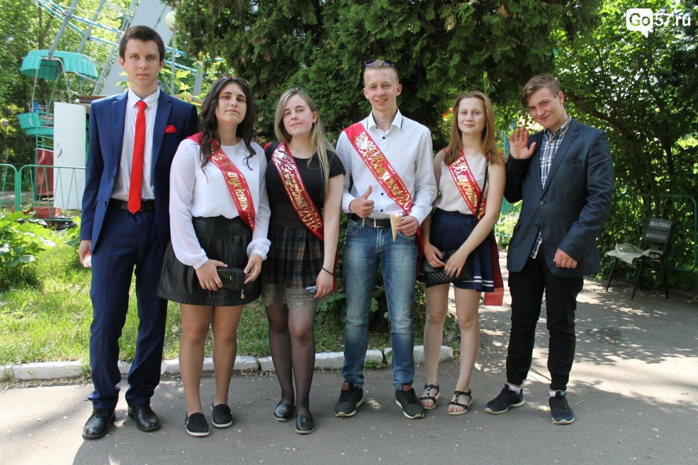 "Для орловских школьников прозвенел ""Последний звонок"", фото-7"