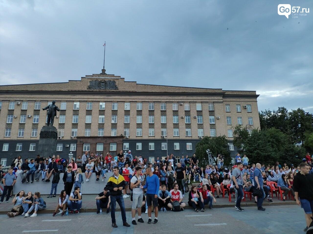 Как орловские фанаты поддержали сборную России , фото-2