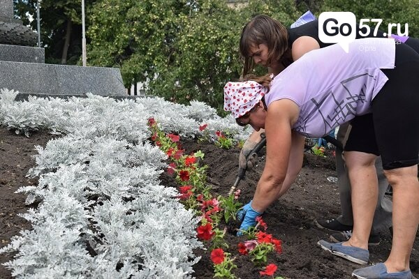 В Орле высадят около 35 тысяч цветов, фото-1