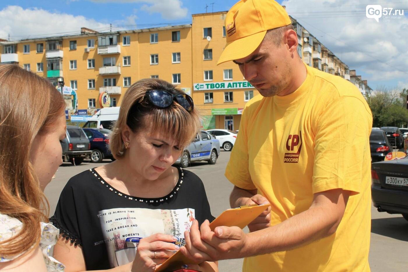 Орловцы выступают против повышения пенсионного возраста, фото-4