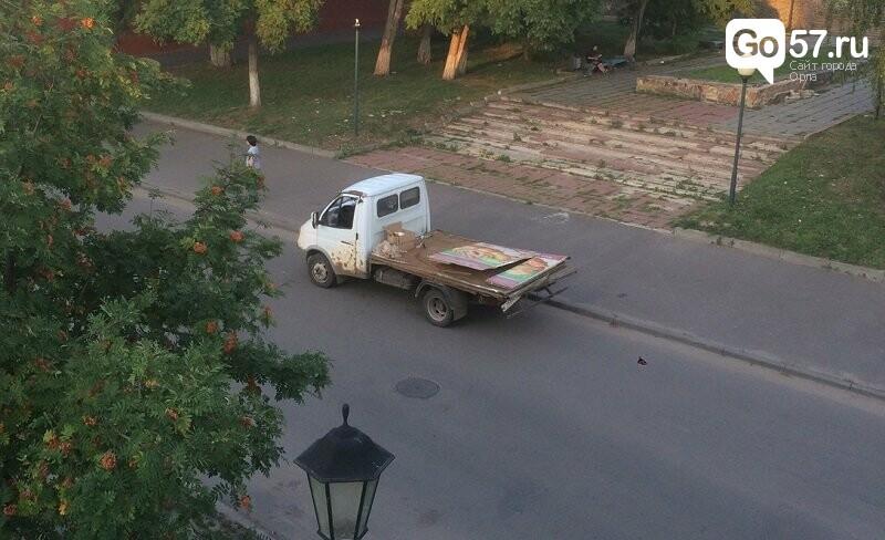 """Ты не пройдешь: """"Газель"""" растеряла груз под Александровским мостом, фото-4"""