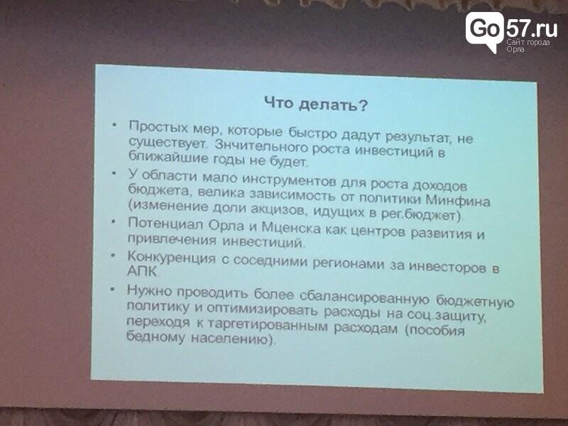 Профессор Наталья Зубаревич рассказала о будущем Орловской области, фото-7
