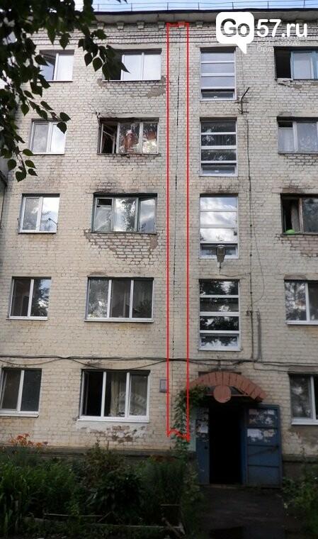 """Многострадальное орловское общежитие """"ушло"""" в сторону, фото-2"""