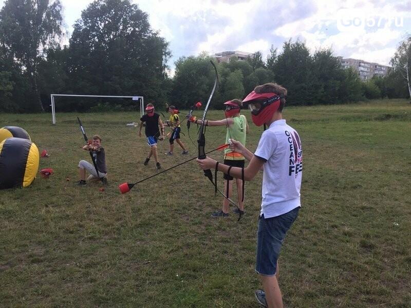 Где в Орле можно поиграть в настоящий Archery Tag, фото-3