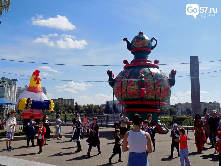 "Балалайка, танцы, петушок: как орловцы отожгли на ""Самоварфест"", фото-2"