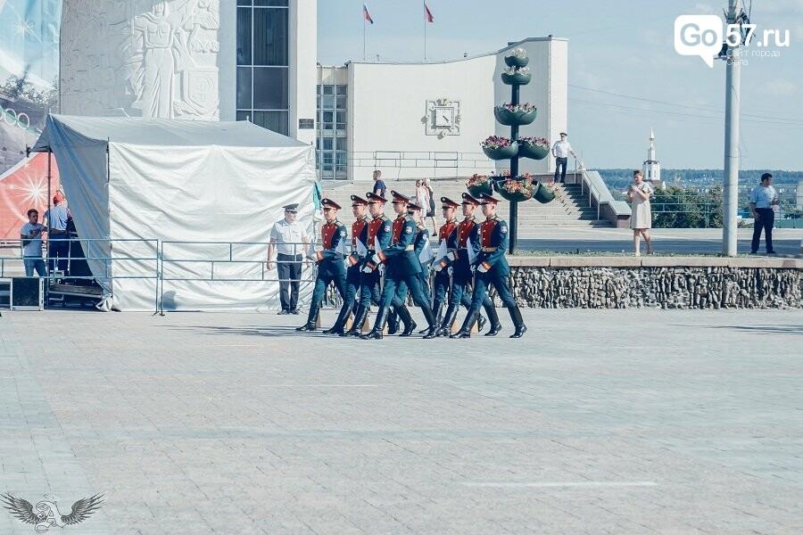 Выступление военнослужащих Преображенского полка в Орле, - ФОТО, фото-1