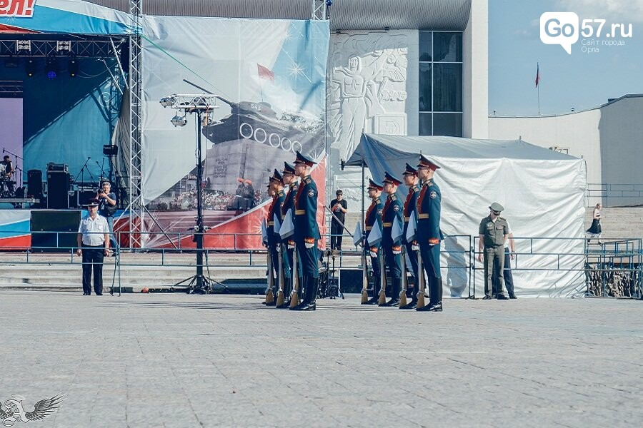 Выступление военнослужащих Преображенского полка в Орле, - ФОТО, фото-2