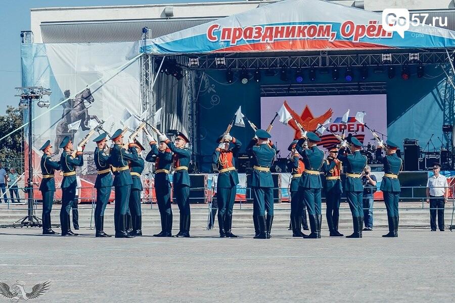 Выступление военнослужащих Преображенского полка в Орле, - ФОТО, фото-8