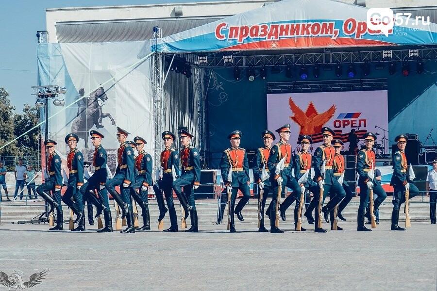 Выступление военнослужащих Преображенского полка в Орле, - ФОТО, фото-4