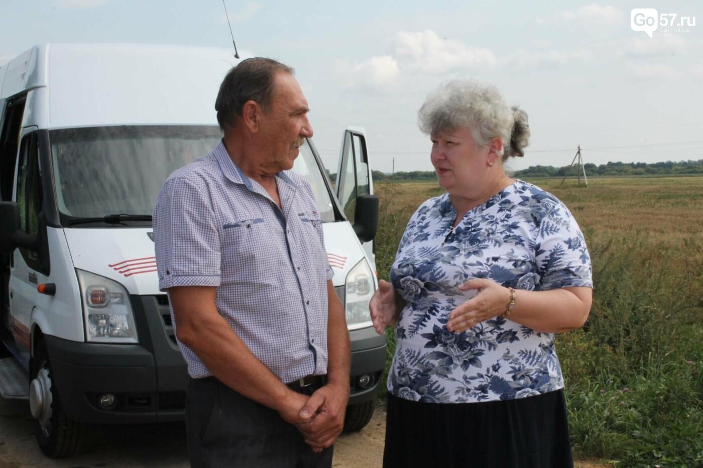 Жильцы орловских глубинок довольны новыми дорогами, фото-2
