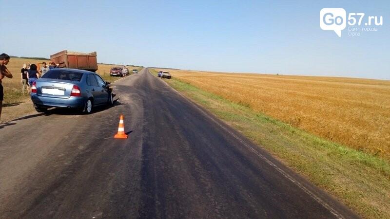 В ДТП под Орлом погибла пассажирка, фото-1