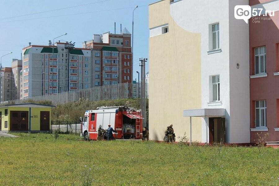 Орловские спасатели провели учения в школе, - ФОТО, фото-9