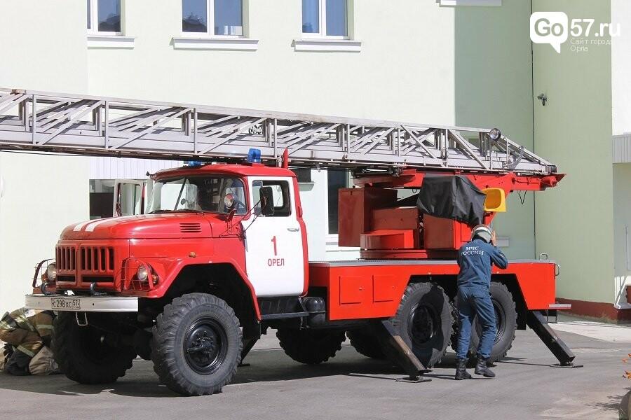 Орловские спасатели провели учения в школе, - ФОТО, фото-10
