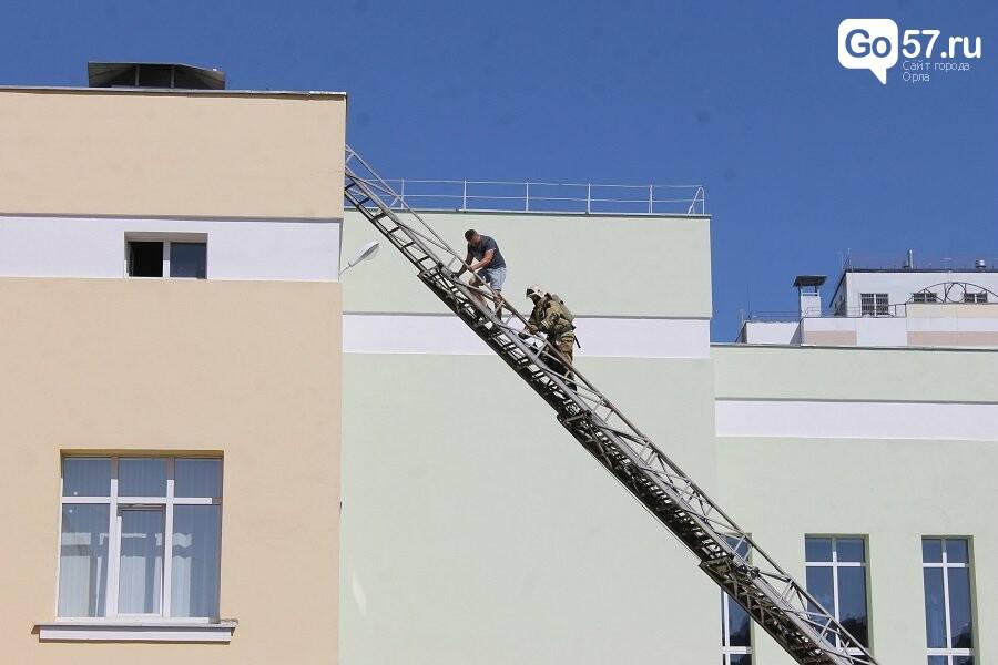 Орловские спасатели провели учения в школе, - ФОТО, фото-1