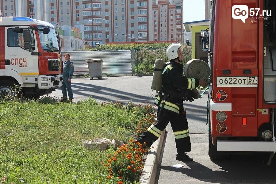 Орловские спасатели провели учения в школе, - ФОТО, фото-14