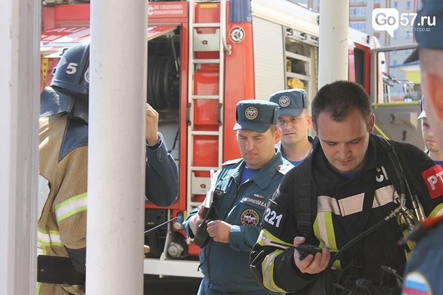 Орловские спасатели провели учения в школе, - ФОТО, фото-4