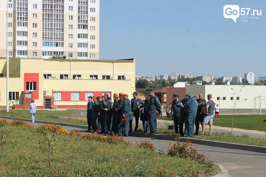 Орловские спасатели провели учения в школе, - ФОТО, фото-13
