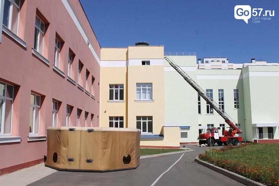 Орловские спасатели провели учения в школе, - ФОТО, фото-7
