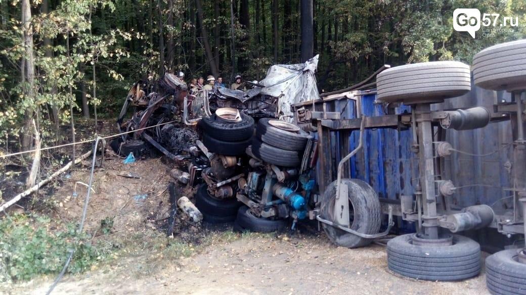 В Мценском районе произошла страшная авария, фото-2
