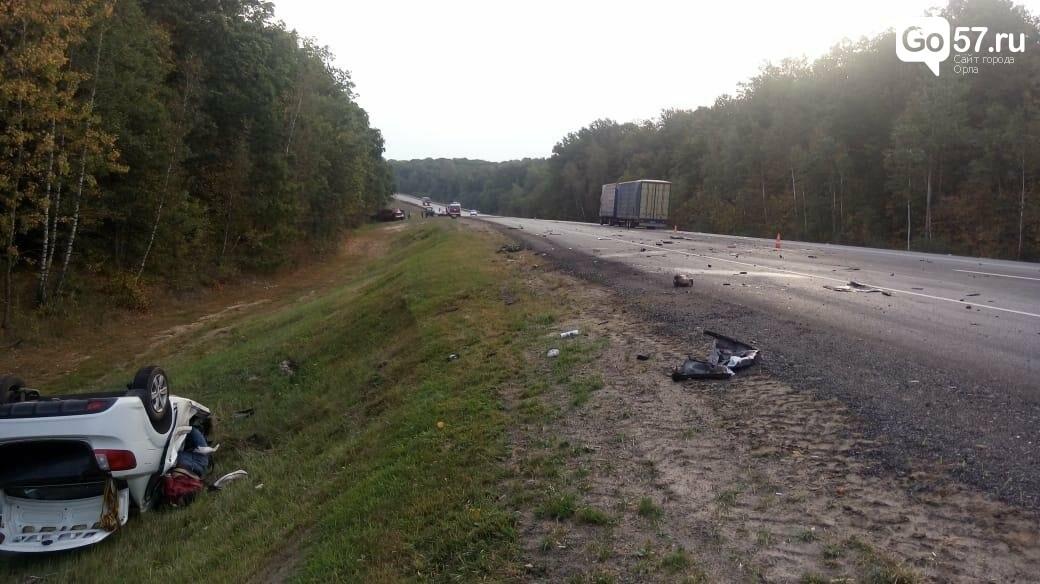 В Мценском районе произошла страшная авария, фото-1