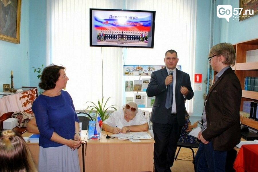 Орловские студенты побывали в роли губернатора, фото-5