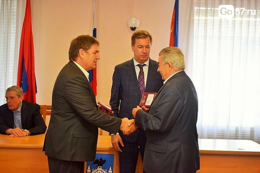 Почетным гражданам Орла вручили медали в честь 75-летия освобождения области, фото-4