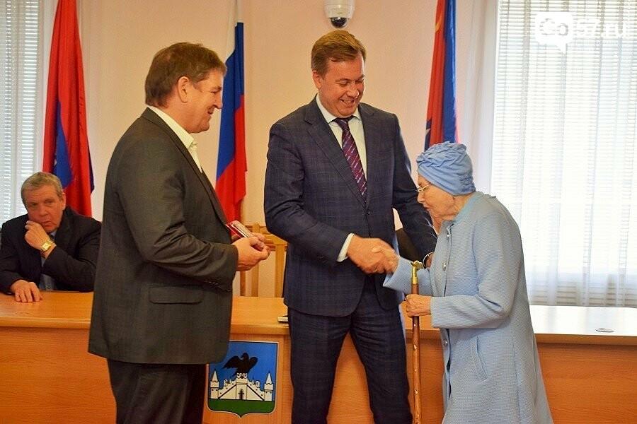 Почетным гражданам Орла вручили медали в честь 75-летия освобождения области, фото-12