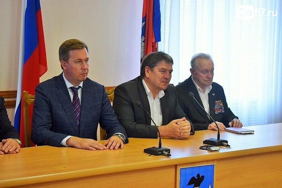 Почетным гражданам Орла вручили медали в честь 75-летия освобождения области, фото-6