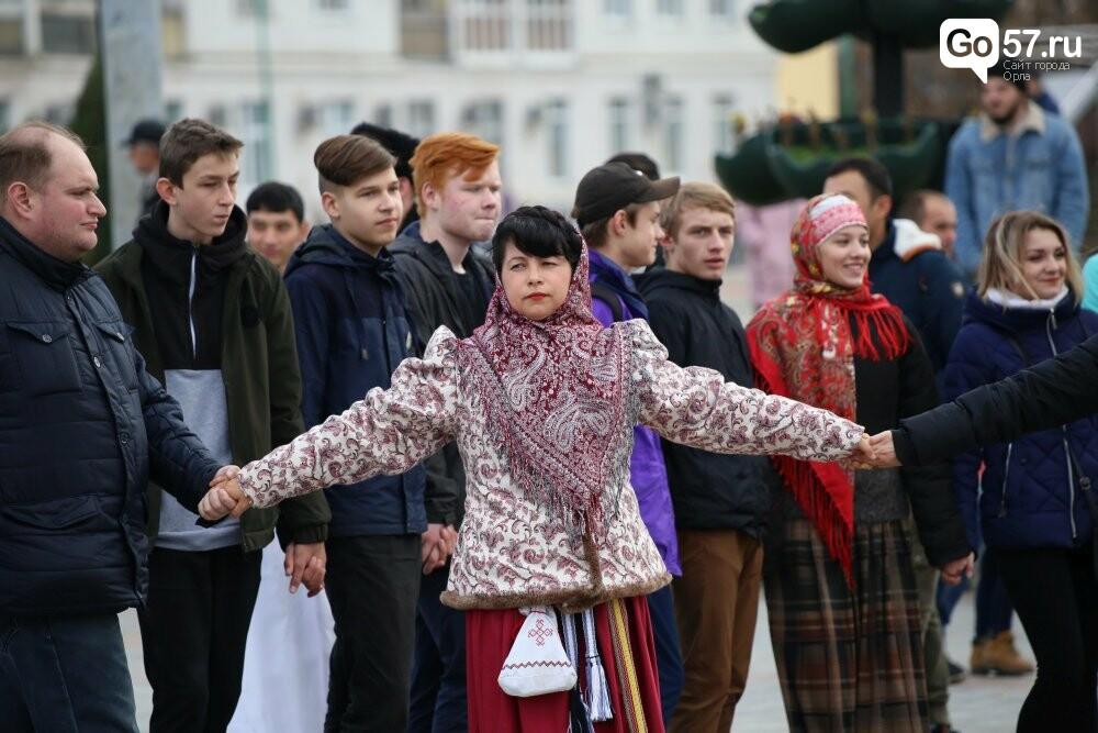 """Почти 800 орловцев закружились во вчерашнем """"Хороводе Единства"""", фото-1"""