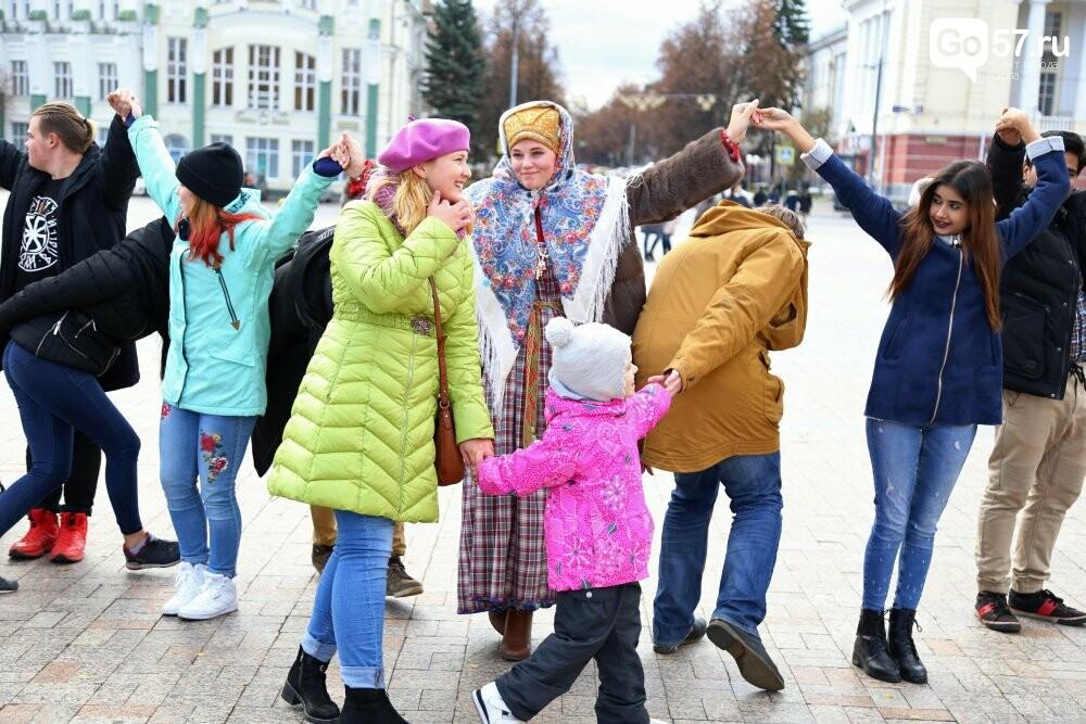 """Почти 800 орловцев закружились во вчерашнем """"Хороводе Единства"""", фото-4"""
