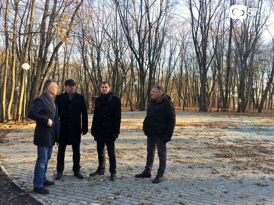 "Мэр и глава администрации Орла осмотрели парк ""Ботаника"", фото-3"