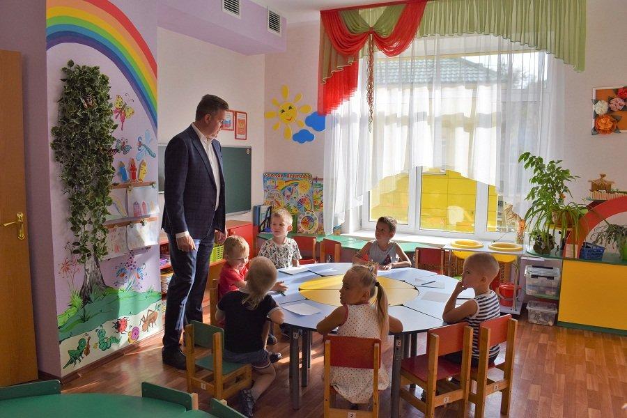 Александр Муромский проверил подготовку школы и садика к новому учебному году, фото-17