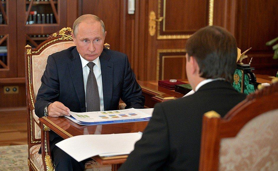 Встреча Путина и Клычкова: о чем говорили Орловский губернатор и президент, фото-2