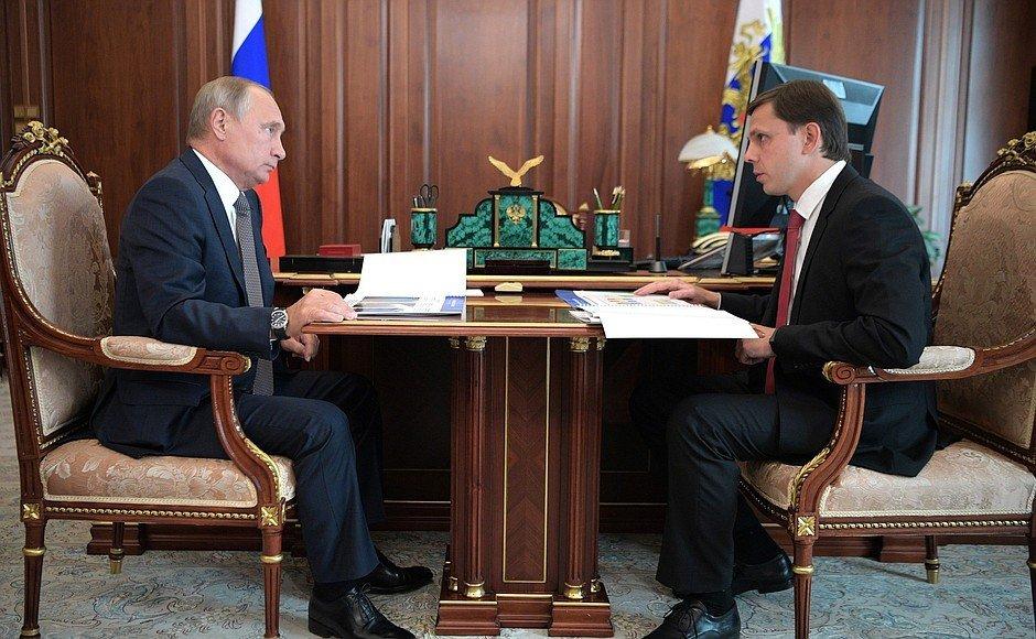 Встреча Путина и Клычкова: о чем говорили Орловский губернатор и президент, фото-3